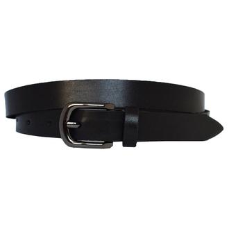 Premium20b1 женский кожаный ремень черный узкий кожанный пояс