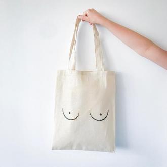 Эко-сумка Сиси бежевый