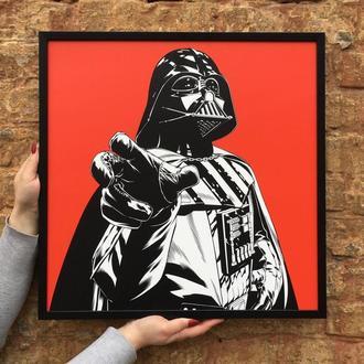 Постер Звездные Войны: Дарт Вейдер (Star Wars: Darth Vader)