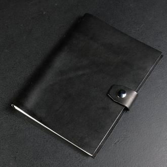 Блокнот в кожаной обложке формата А5 Итальянский краст цвет