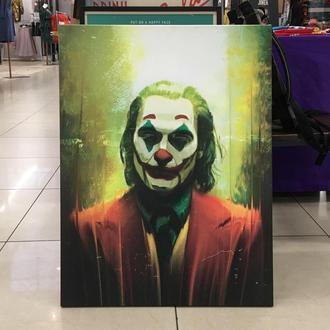 Картина на холсте (печать) Джокер / Joker 2019