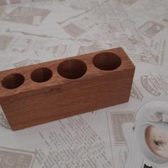 Підставка для ручок, органайзер дерев'яний, подставка для ручек
