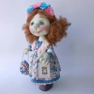 Большая интерьерная кукла из капрона