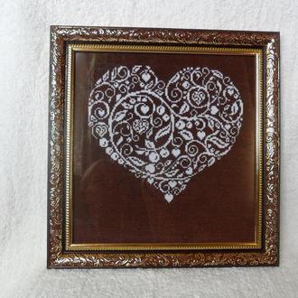 Картина Цветущее сердце