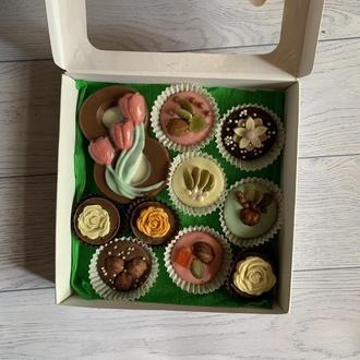 Шоколадный подарок к 8 марта
