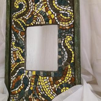 Мозаика, зеркало