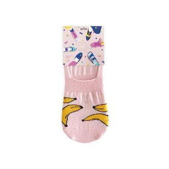 Следки Банан женские розовый