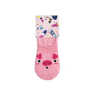 Следки Свинка женские розовый