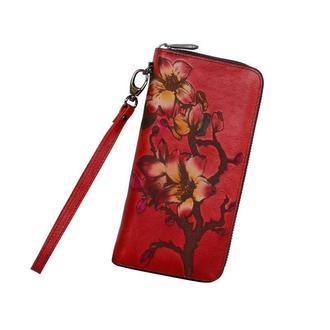 Кожаный дизайнерский кошелёк