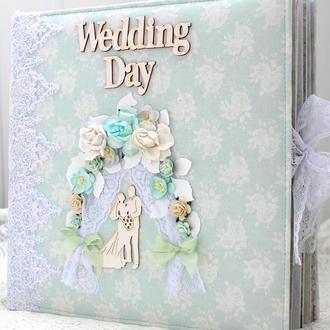 Большой свадебный фотоальбом