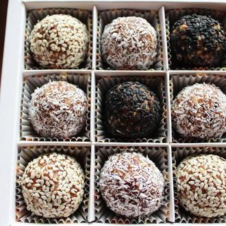 Натуральные конфеты Курага-кешью (без сахара)