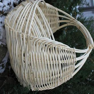 корзина из натуральной лозы