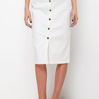 юбка из белого джинса Escena