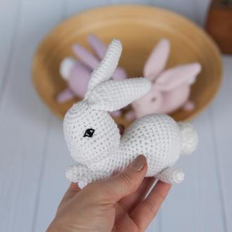 """Игрушка """"Белый кролик"""""""