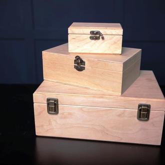 Деревянная подарочная упаковка, для подарков.