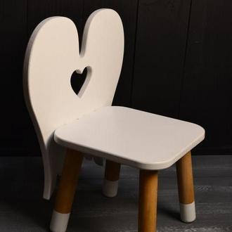 Детский стул Ангел, детская мебель, детский комплект мебели, детский стульчик для рисования