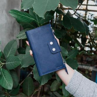 Кожаный клатч для телефона. 050103