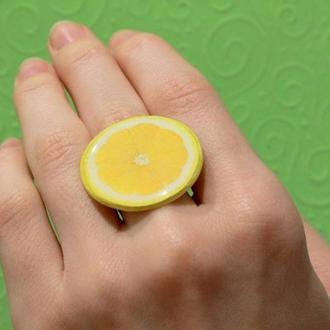 """Кольцо """"Лимон"""""""