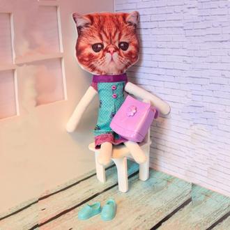Оригінальна іграшка Кіт Герман