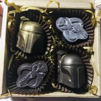 Набор шоколадных конфет Star Wars BB9, Mandalorian, Boba Fett