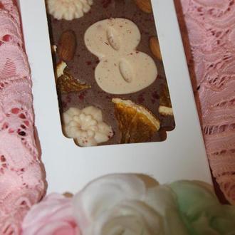 Шоколад подарок открытка