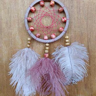 Ловец снов в перьями страуса