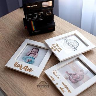 Фоторамка в стиле Polaroid