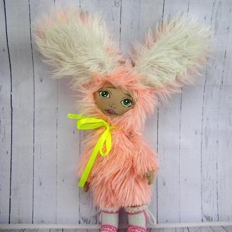 Текстильная кукла Зая