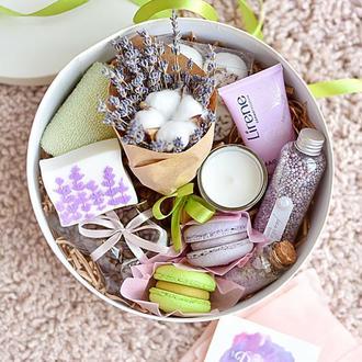 Подарочный набор девушке/Gift box Лавандовые мечты