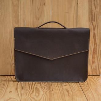 Портфель Postman коричневый