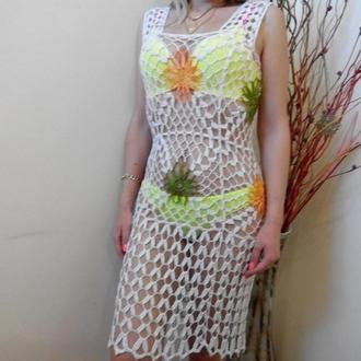 Вязаные платья,платья