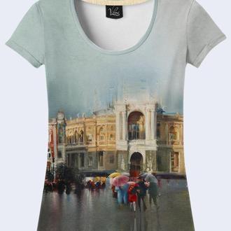 футболка 3D «Оперный театр.Одесса». Официальный производитель.