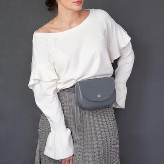 Waist bag Mira gray (артикул: wb014.10)