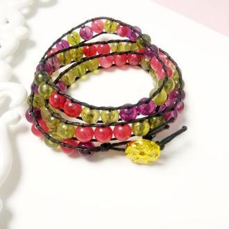 Женский браслет чан лу с имитацией натурального камня, подарок девушке
