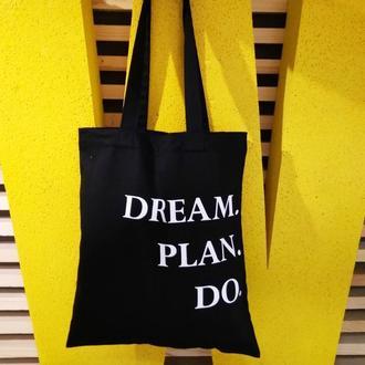 Экосумка - dream.plan.do Киев, екосумка чорна львів, экосумка красная киев, шоппер, экосумка желтая