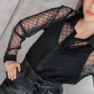 Рубашка сетка