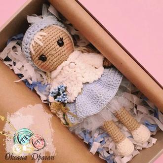 Кукла вязаная Лялька в'язана