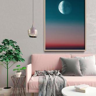Фотопостер Луна на небосводе