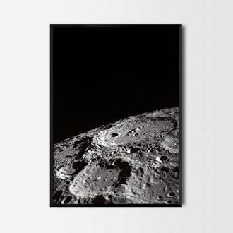 Фотопостер Поверхность луны