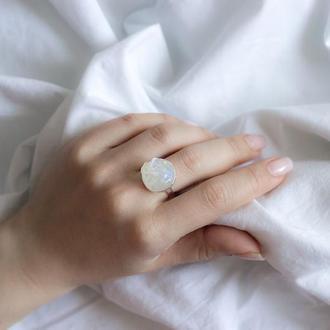 Перстенек с опалітом - кольцо с опалитом