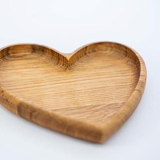 Деревянное сердечко