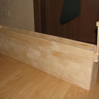 Ящик-кашпо под нишу на кухонной поверхности