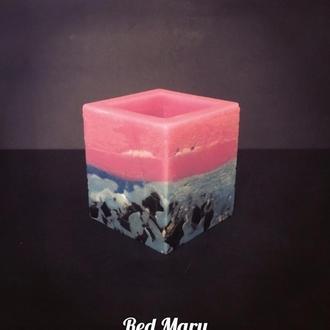 """Парафиновая лампа  """"Розовый закат"""""""