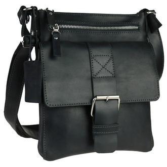Именная кожаная сумка M-Buckle, 4 цвета