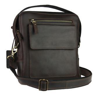 Именная кожаная сумка через плечо RX, 5 цветов