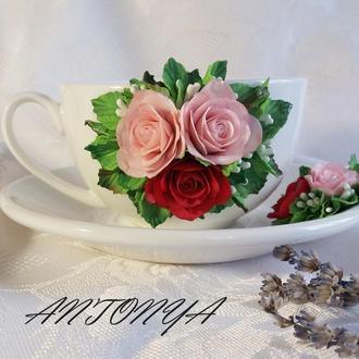 Чашка и блюдце чайная пара