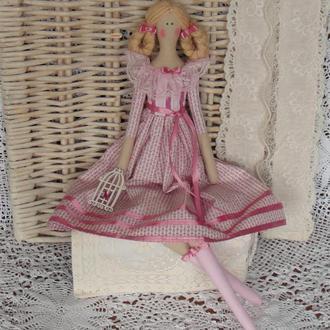Кукла в стиле Тильда Кэролайн 48см