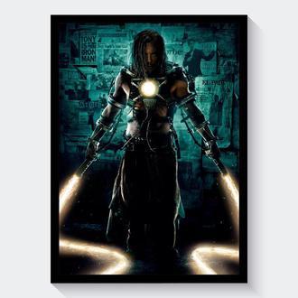 Постер А3 Iron Man / Железный Человек (Иван Ванко: Хлыст)