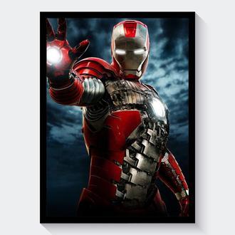 Постер А3 Iron Man 2 / Железный Человек 2