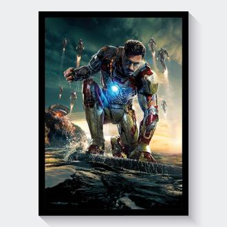 Постер А3 Iron Man 3 / Железный Человек 3